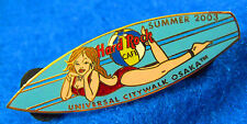 UNIVERSAL OSAKA SEXY JAPANESE BIKINI GIRL SURFBOARD SERIES 03 Hard Rock Cafe PIN