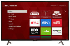 Tcl 43S305 43-Inch 1080p Roku Smart Led Tv Smart Functionality- Free Shipping