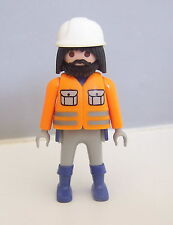 PLAYMOBIL (Q217) CHANTIER - Ouvrier Superset Travaux 4138