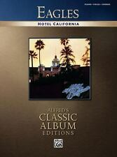 Eagles -- Hotel California: Piano/Vocal/Chords (Alfred's Classic Album Editions)