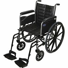 "Invacare LightWeight Tracer EX2 Wheelchair 20"" with Swingaway Footrest"