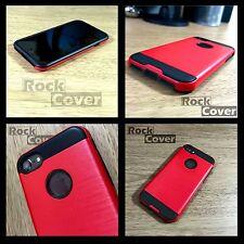 IPhone 7 Resistente Funda compuesto de densidad ultra Roja concepto Inc protector de pantalla