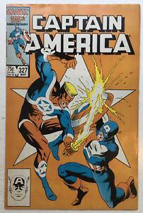 Marvel CAPTAIN AMERICA (1987) #327 1st John Walker Cover FN 6.0
