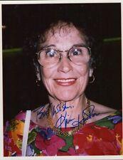 """auth. autographed photo """"KIM HUNTER""""-- older portrait Color photo"""