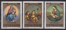 CENTRAL AFRICA 1980 CHRISTMAS PAINTINGS MNH C5305