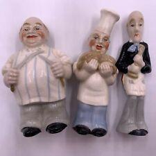 Rare Set of George Wade Butcher Baker Candlestick Maker Figurines