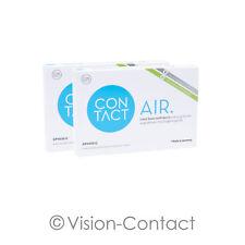 Contact Air 2 x 6 sphärische Kontaktlinsen Monatslinsen von Wöhlk