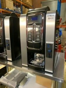 Necta Krea Automatic Coffee Machine - fitted with coin acceptor - As New
