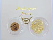 Pot Memory/Floating Pendant/Necklace Birthstone November/Citrine Arabesque Charm