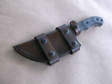 TOM BROWN TRACKER T1 TBT-010 CUSTOM LEATHER SHEATH (SHEATH ONLY)