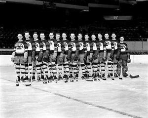 Boston Bruins 1930-31 NHL Season 8x10 Photo