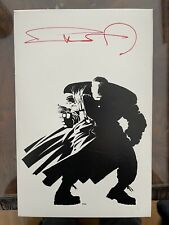 Frank Miller Sin City Tour Twice Signed 1st Edition Slipcase Trade Paperback