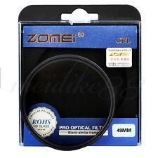 Zomei 49mm CPL Circular Polarizing Polarizer Filter for Canon Nikon Sony Pentax