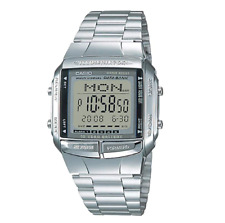 Casio Classic DB-360-1ADF Databank Silver Stainless Steel Watch
