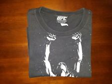 Official UFC 94 Small S Georges Rush St. Pierre GSP Black Short Sleeve T Shirt
