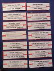 Lot of 12 Jukebox Tags 45 RPM Title Strips FAITH NO MORE   BANGLES & More  #12-4