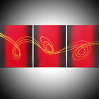 acrylic abstract painting canvas triptych artist canvas artwork bargain cheap