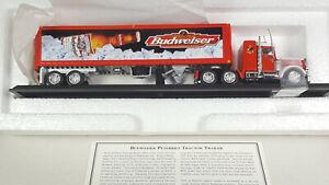 Budweiser Peterbilt Matchbox Convoy Rigs Tractor Trailer Semi Truck Rare Vintage