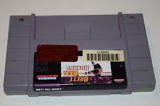 Brett Hull Hockey Super Nintendo SNES Video Game Cart