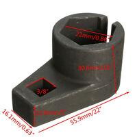 3/8'' 22mm Drive Lambda Oxygen O2 Sensor Offset Removal Socket Tool Hole Wire