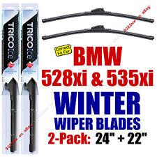 WINTER Wiper Blades 2pk Super-Premium fit 2008 BMW 528xi 535xi 35240/220