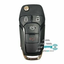 NEW REPLACEMENT FLIP KEY KEYLESS REMOTE CASE FOR FORD FUSION 2013-2016