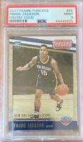 FRANK JACKSON 2017 Panini Threads Dazzle GOLD /10 PSA 9 SSP Pelicans Rookie RC