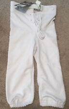 Nwt Rawlings F25006 Youth Game Football Pants White Size Xs
