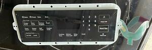 Samsung DG34-00020A Range Membrane Switch - Black