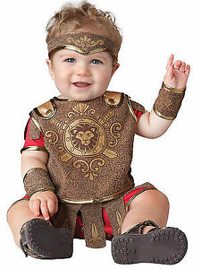 Incharacter Baby Gladiator Warrior Infant Costume Halloween Cute Baby Size 16041