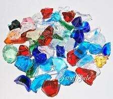 100g Okinawan Ryukyu glass chips - For mosaic art, jewelry making (M)