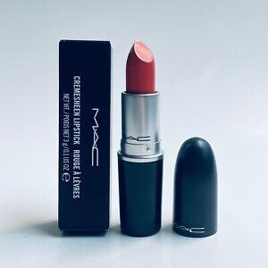 MAC Cremesheen Lipstick RAVISHING New in box 0.1 oz