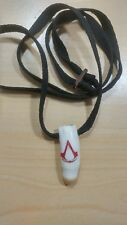 REAL AUTHENTIC ALLIGATOR TOOTH NECKLACE Engraved ASSASSINS CREED GO GATORS NWOT