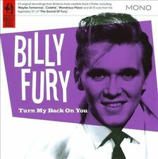 Turn My Back on You by Billy Fury (CD, Feb-2011, Snapper Music) NEW
