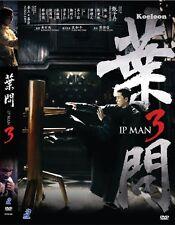 DVD Movie IP MAN 3 葉問3 BOX SET English Subtitle All Region Donnie Yen Mike Tyson