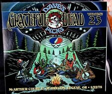 Grateful Dead Dave's Picks Vol. 23 CD MacArthur Court  Eugene 1/22/1978