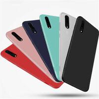 For Huawei P30 Lite Pro Smart Case Ultra Slim Soft Silicone TPU Matte Back Cover