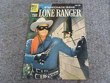 "Lone Ranger #131 (1960) ""The Deserted Stage Station!"" * 7.5 * VF- *"