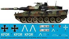 Peddinghaus 1/16 Leopard 2A6 Tank Markings Bundeswehr PzBtl 203 KFOR Kosovo 3587
