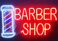 "New Barber Shop Hair Salon Light Lamp Beer Neon Sign 24""x20"""