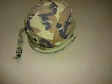 US ARMY HELMET SMALL PASGT WOODLAND BODY ARMOR DESERT STORM FLAG BDU GRENADA