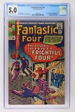 Fantastic Four #36 - Marvel 1965 CGC 5.0 1st Appearance of the Frightful Four. 1
