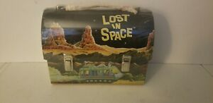 Lost in Space Metal Dome Lunch Box NEW Reproduction 1998 SEALED IN PLASTIC
