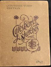 Galesburg Sketches, Specimen Bits, Contributors Edition - Signed, #23/250 Rare