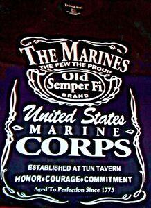 U.S.M.C. Marine Corps, Patriot, T-Shirt, Size 5 XLT Great Quality!! New w/o Tag