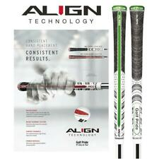 Golf Pride Multi Compound ALIGN Golf Grip Standard Size (White / Green)
