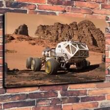 "The Martian Mars Rover Printed Box Canvas Picture A1.30""x20""30mm Deep Matt Damon"