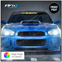 Subaru Impreza Universal Sunstrip Decal Kit WRX STI Forrester Stickers Decals