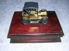 Vintage Giftco Hong Kong old car playing cards in case