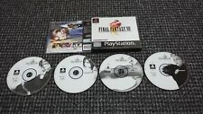 Sony PS1/Playstation 1 Final Fantasy VIII probado y en funcionamiento (RS3)
